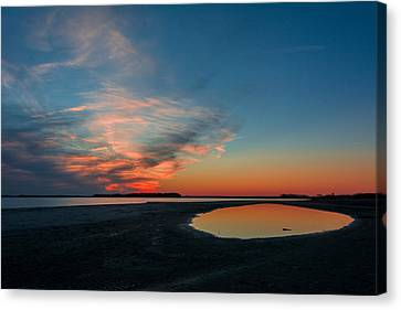 Folly Beach Canvas Print by RC Pics