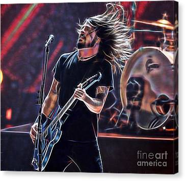 Foo Fighters Collection Canvas Print by Marvin Blaine