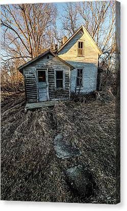 Canvas Print featuring the photograph Forgotten by Aaron J Groen