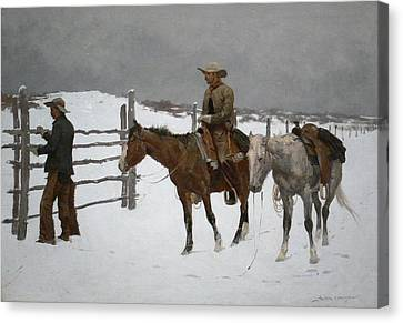 Frederic Remington Canvas Print