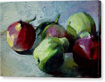 Fruits Canvas Print by George Siaba