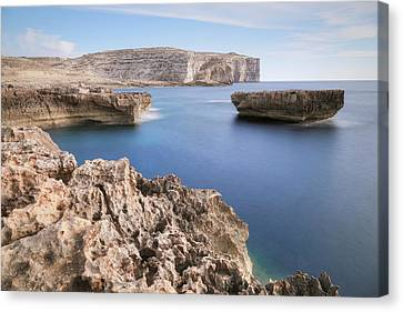 Maltese Canvas Print - Fungus Rock - Gozo by Joana Kruse