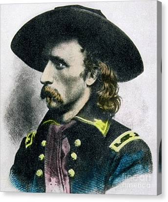 Officer Canvas Print - George Armstrong Custer by American School