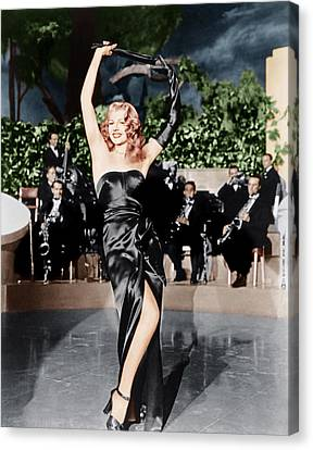 Gilda, Rita Hayworth, 1946 Canvas Print