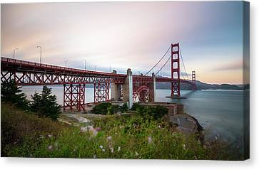 Golden Gate Bridge  Canvas Print by Marlon Mullon
