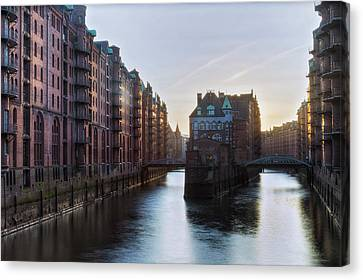 Hamburg - Germany Canvas Print