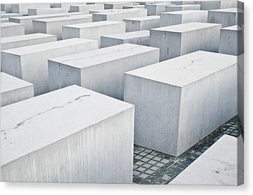 Holocaust Memorial Canvas Print by Tom Gowanlock
