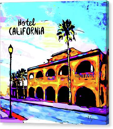 Hotel California Canvas Print by Ivan Guaderrama