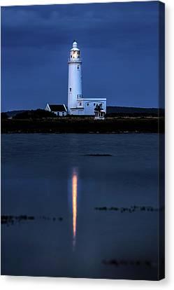 Hurst Point Lighthouse - England Canvas Print