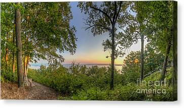 Inspiration Point Canvas Print - Inspiration Point by Twenty Two North Photography