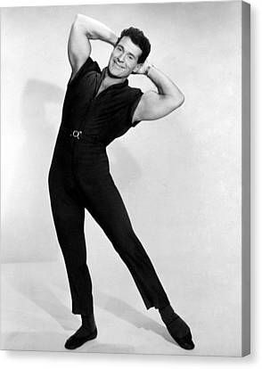 Fitness Instructor Canvas Print - Jack Lalanne, 1960s by Everett