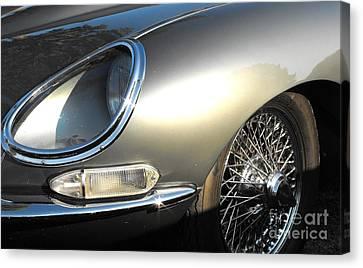 Jaguar E-type Canvas Print