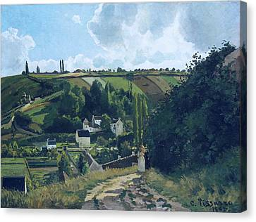 Jalais Hill, Pontoise Canvas Print