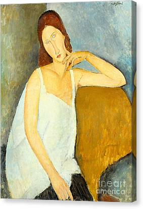 Jeanne Hebuterne Canvas Print