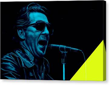 Jerry Lee Lewis Collection Canvas Print