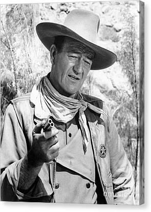 John Wayne (1907-1979) Canvas Print by Granger