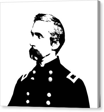 Joshua Lawrence Chamberlain  Canvas Print by War Is Hell Store