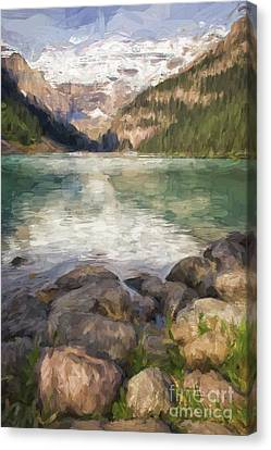 Canvas Print - Lake Louise by Patricia Hofmeester
