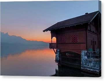 Lake Thun - Switzerland Canvas Print by Joana Kruse