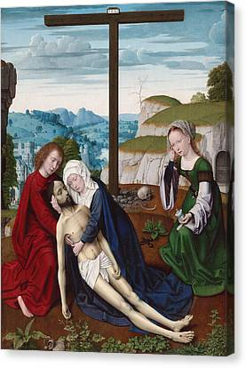 Lamentation Canvas Print by Gerard David