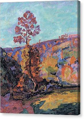 Landscape At Crozant Canvas Print