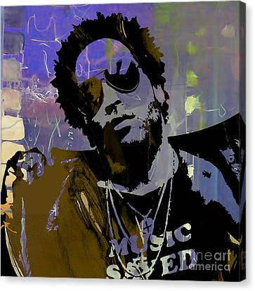 Lenny Kravitz Collection Canvas Print