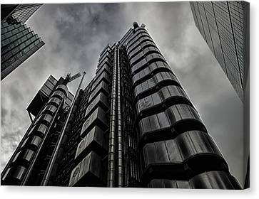 Lloyds Of London Canvas Print by Martin Newman