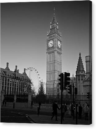 London  Skyline Big Ben Canvas Print