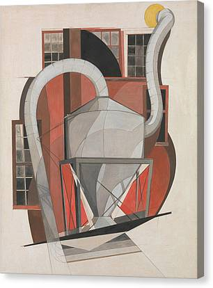 Machinery Canvas Print - Machinery by Charles Demuth