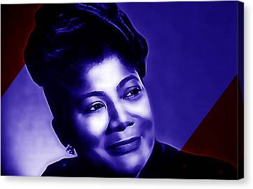 Jackson Canvas Print - Mahalia Jackson Collection by Marvin Blaine