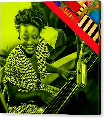 Mary Lou Williams Collection Canvas Print