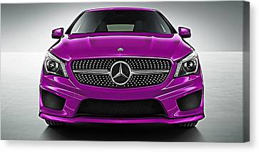 Car Canvas Print - Mercedes Cla Class Coupe Collection by Marvin Blaine