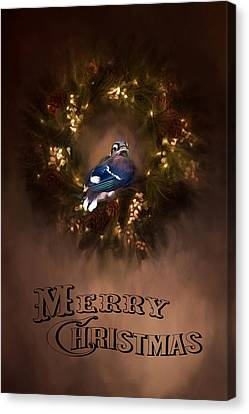 Merry Christmas Canvas Print by Darren Fisher
