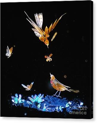 Micromosaic By Henry Dalton Canvas Print