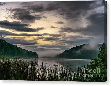 Misty Summer Dawn Canvas Print by Thomas R Fletcher