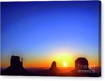 Monument Valley Navajo Tribal Park Canvas Print