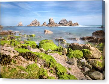 Ledge Canvas Print - Mupe Bay - England by Joana Kruse