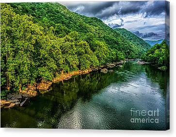 New River Gorge National River Canvas Print