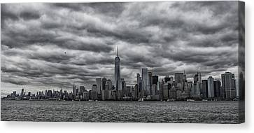 New York Skyline Canvas Print by Martin Newman