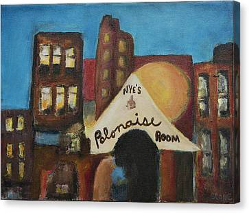 Canvas Print featuring the painting Nye's Polonaise Room by Susan Stone