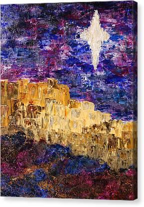 Oh Bethlehem Canvas Print by Deborah Gall