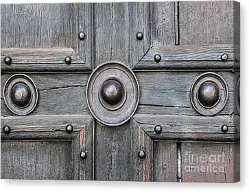 Old Door Detail Canvas Print