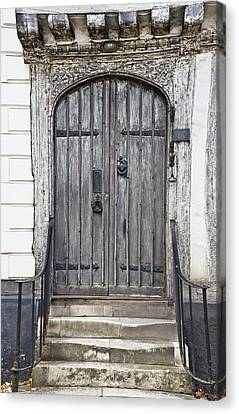 Medieval Entrance Canvas Print - Old Doorway by Tom Gowanlock