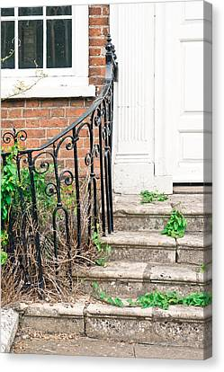 Old Steps Canvas Print by Tom Gowanlock