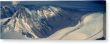 Panoramic Aerial View At 3400 Meters Canvas Print