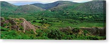 Panoramic View Of Healy Pass, Cork Canvas Print by Panoramic Images