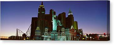 Panoramic View Of New York New York Canvas Print by Panoramic Images