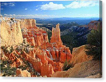 Paria Point In Bryce Canyon Canvas Print by Pierre Leclerc Photography