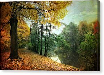 Lanscape Canvas Print - Peaceful Path by Jessica Jenney