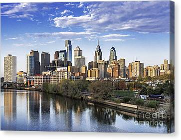 Philadelphia Skyline Canvas Print by John Greim